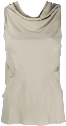 Rick Owens Backless Jersey Tank Top
