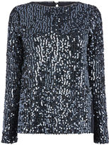 Oasis Sequin Tinsel Sweat
