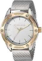 Sean John Men's ' Quartz Metal and Stainless Steel Dress Watch, Color:Silver-Toned (Model: SJC0174002)