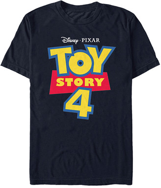 Fifth Sun Tee Shirts NAVY - Toy Story 4 Navy Full Color Logo Tee - Adult