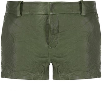 Zadig & Voltaire crumpled Simio shorts