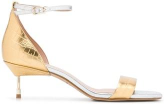 Kurt Geiger Metallic Open-Toe Sandals