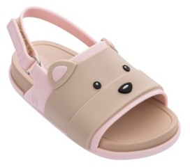 Mini Melissa Toddler Girls Beach Slide Bear Sandal