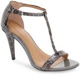Calvin Klein Women's 'Nasi' Leather T-Strap Sandal