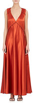 Prabal Gurung Women's Silk Satin Sleeveless Gown