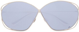 Christian Dior Stellaire oversized sunglasses