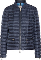 Moncler Blen Quilted Shell Down Jacket - Navy