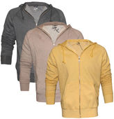 Scout Mens Zip Through Hooded Sweat Top Italian Leisurewear New To The Uk