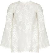 Zimmermann Winsome fil coupé silk-organza blouse
