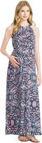 Motherhood Jessica Simpson Multi Print Maternity Maxi Dress