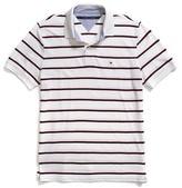 Tommy Hilfiger Custom Fit Graphic Polo