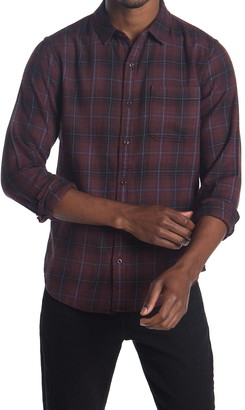 Public Opinion Bufflo Plaid Flannel Shirt