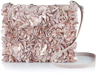 Manley Alexa Cross Body Leather Bag - Pink