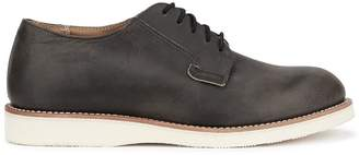 Red Wing Shoes Postman Oxford Charcoal Distressed Leather Shoes