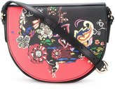 Etro floral print saddle bag