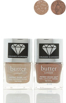Butter London Crushed Diamond Patent Sheen Nail Polish - Set of 2