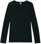 Petit Bateau Iconic womens V-neck T-shirt