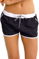 Seafolly NEW Beach Runner Boardshorts Black White