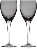 Waterford W Set of Two Wine Glasses