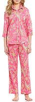Lauren Ralph Lauren Petite Paisley Sateen Pajamas