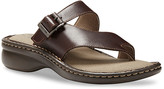 Eastland Women's Sandals BROWN - Brown Townsend Opanka Leather Sandal - Women
