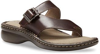 Eastland Women's Sandals BROWN - Brown Townsend Opanka Leather Sandal - Women