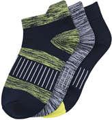 Joe Fresh Kid Boys' 3 Pack Sport Ankle Socks, JF Midnight Blue (Size 3-6)