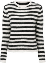 The Elder Statesman striped cashmere jumper - women - Cashmere - S
