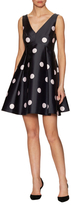 Kate Spade Spotlight V-Neck Flared Dress