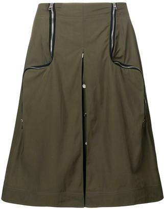 J.W.Anderson Safari Two-Way Zipper Skirt