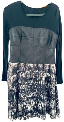 BOSS ORANGE Black Silk Dress for Women