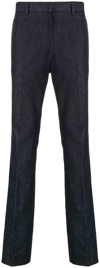 Calvin Klein side stripe straight leg jeans