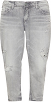 Silver Jeans Plus Size Cropped skinny jeans