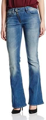 G Star Women's Lynn Zip High Waist Flare Jeans