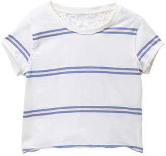 Ten Sixty Sherman Stripe T-Shirt (Big Girls)