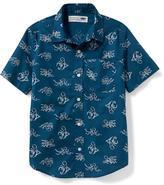 Old Navy Classic Poplin Shirt for Boys