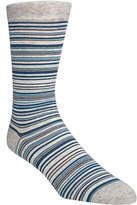 Cole Haan Men's Multi Stripe Crew Socks
