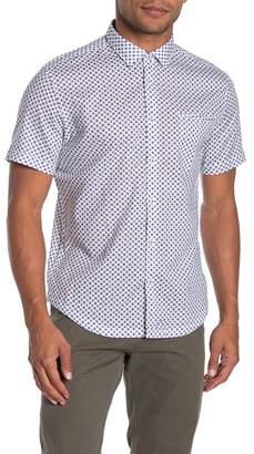 Good Man Brand Sunburst Floral Short Sleeve Shirt