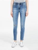 Calvin Klein Jeans High Waist Deep Blue Leggings