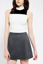 Urban Outfitters Coincidence & Chance Patent Colorblock Cropped Top
