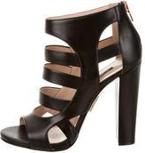Ruthie Davis Cutout Leather Sandals w/ Tags