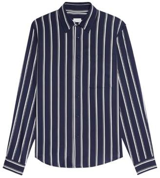 Sandro Paris Wide-Stripe Casual Shirt