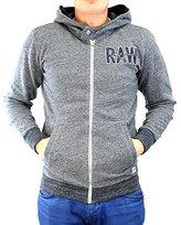 G Star Men's Limbar Hooded Sweatshirt Vancouver Slub