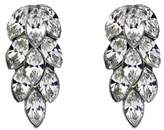 Ben-Amun Ben Amun Swarovski Crystal Cluster Marquise Cut Post Earrings.