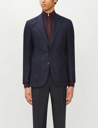Reiss Sommelier single-breasted slim-fit wool jacket