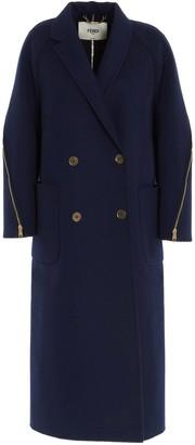 Fendi Double Breasted Coat