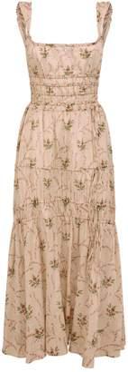 Brock Collection Prisca Floral Print Dress