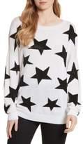Alice + Olivia Women's Bao Star Embellished Wool Sweater