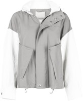 Givenchy two-tone short jacket