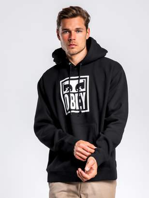 Obey Eyes Icon Hoodie in Black